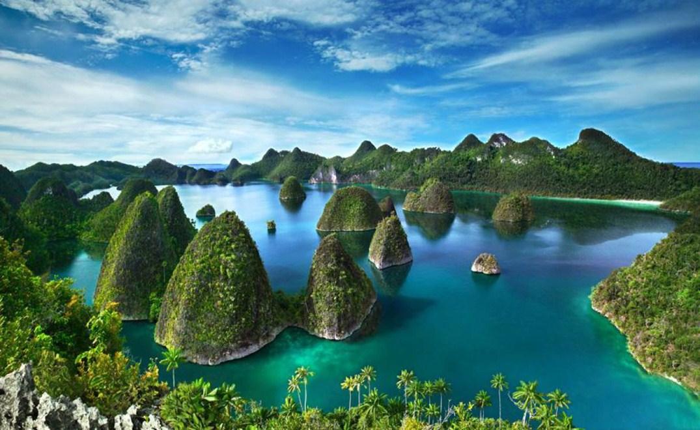 foto tempat wisata alam di papua pesona indonesia fototrip 1