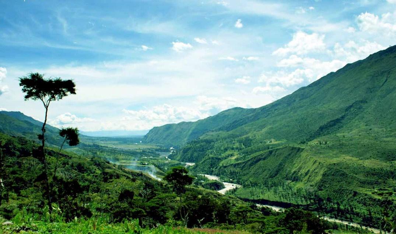 foto tempat wisata alam di papua pesona indonesia fototrip 2
